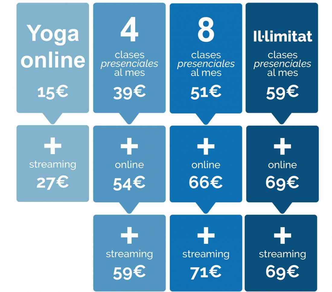 Precios yoga online1