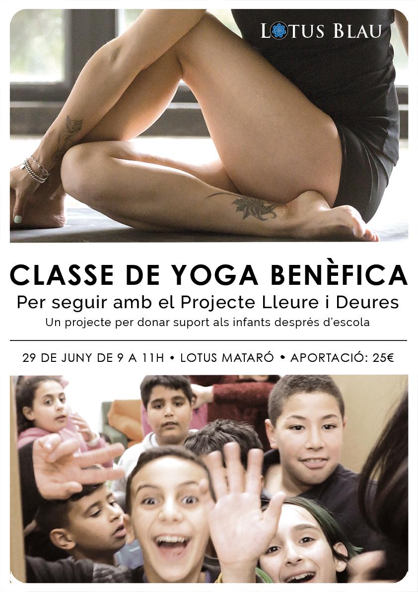 CLASSE DE YOGA BENÈFICA