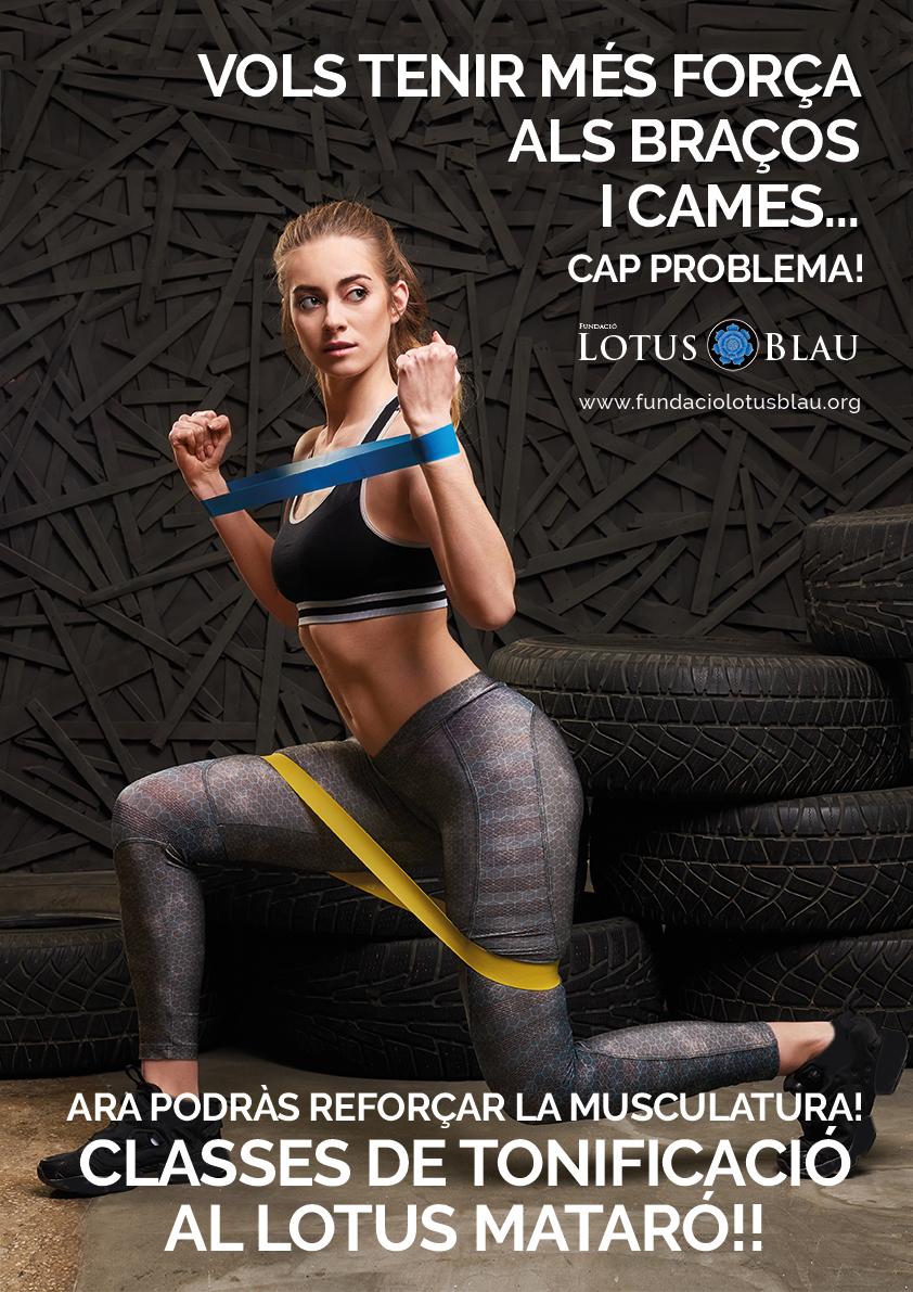 Tonifica el cos amb les noves classes al Lotus Mataró