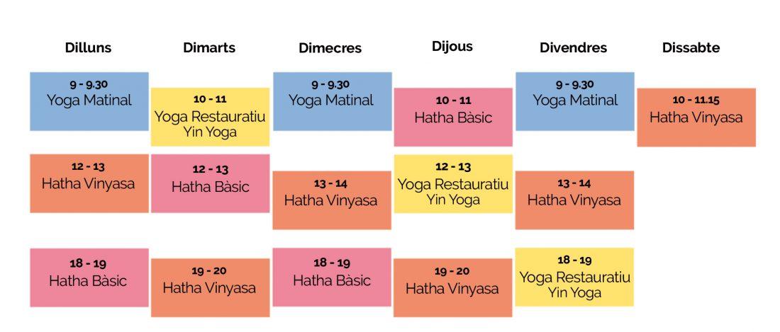 Horaris yoga online6